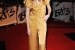 arrives for the Brit Awards 2009 at Earls Court on February 18, 2009 in London, England.