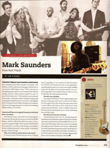 mark saunders interview