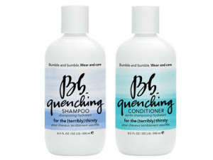 8. Bumble and Bumble Quenching Shampoo and Conditioner