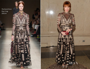 Florence-Welch-In-Valentino-American-Museum-Of-Natural-Historys-2013-Museum-Gala